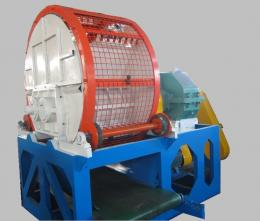 Full Automatic Whole Tyre Crusher