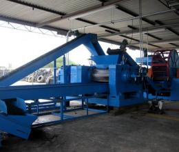 Two Roll Rubber Crusher