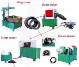 Tyre Ring Cutter + Bead Wire Separator