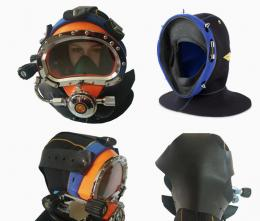 Diver Dive Diving Helmet Equipment