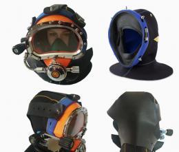 Diver Dive Diving Helmet Equipment