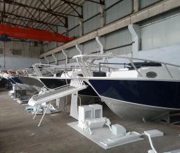 Aluminium Fishing Yacht